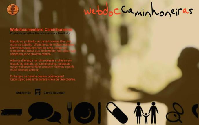 Caminhoneiras - webdocumentário