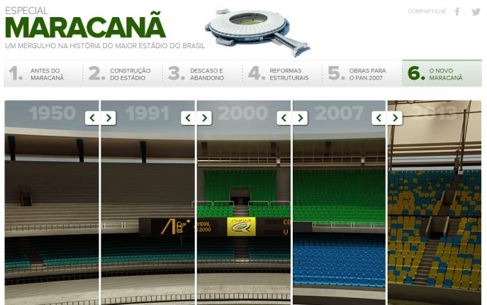 Maracanã – Um mergulho na história do maior estádio do Brasil - Globoesporte.com