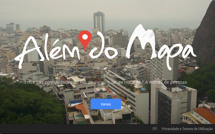 Além do mapa – o Google e os webdocumentários