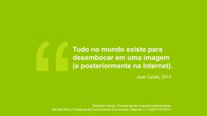 Slide da apresentação de Marcelo Bauer sobre webdocumentários na Intercom